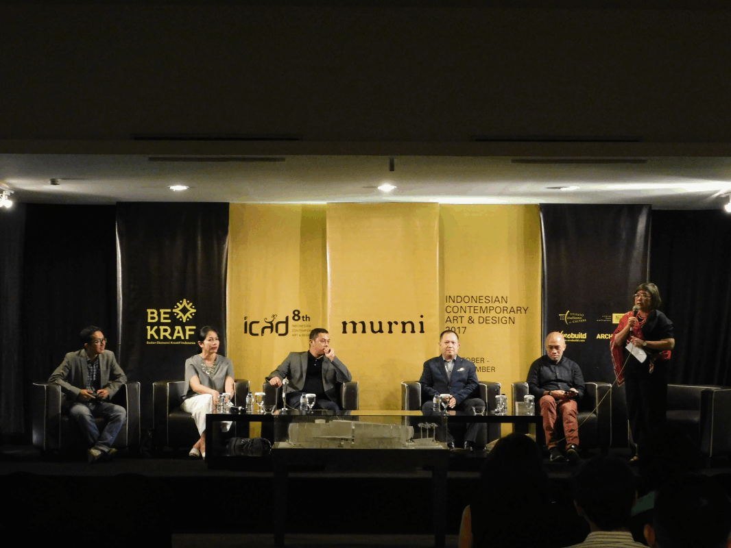 Virobuild Held Architecture Discussion at Design Convention ICAD 8 Murni