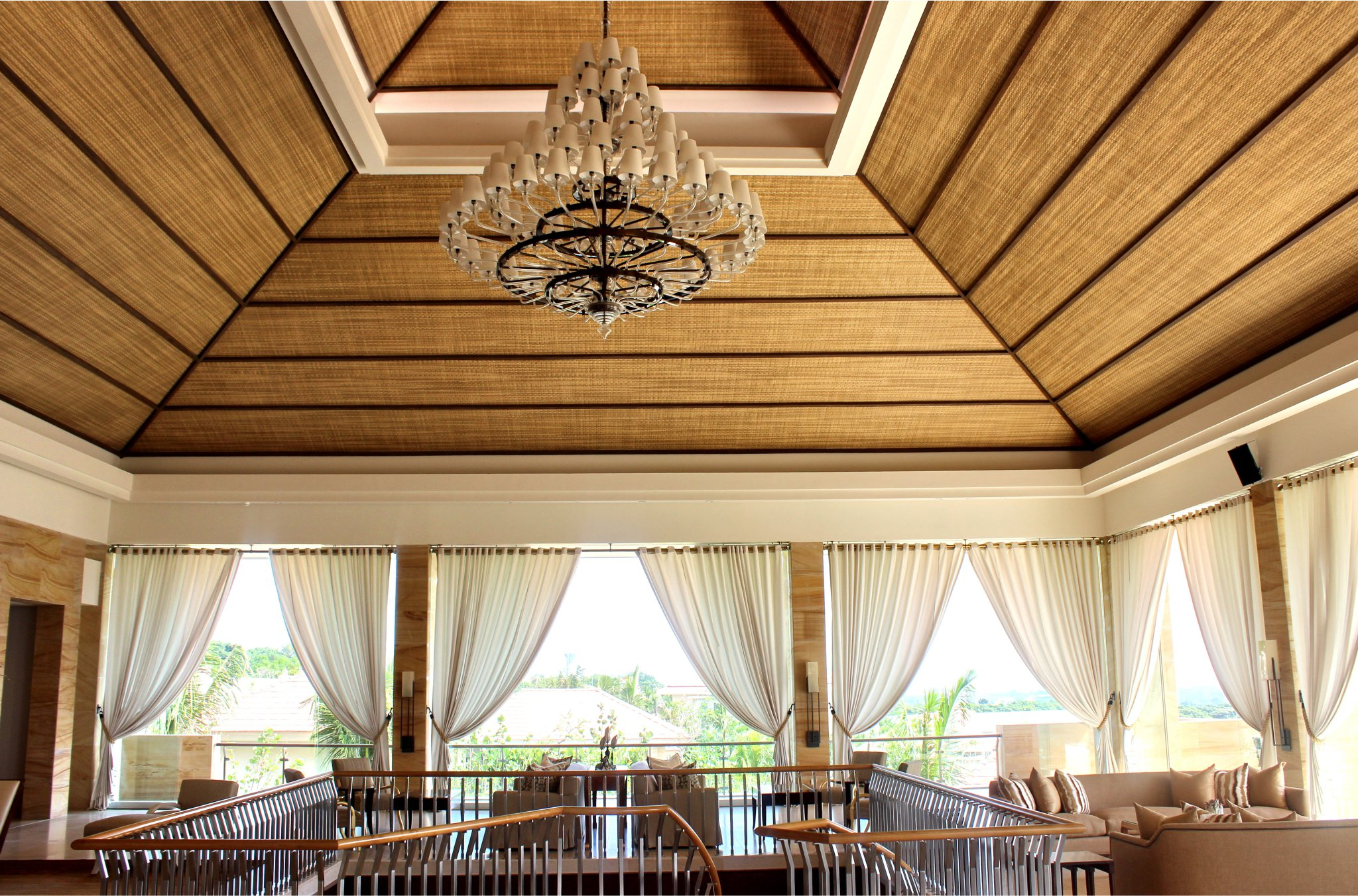 Virosurface installed in The Mulia Hotel Bali _ Environmentally Friendly All-Weather Synthetic Wicker